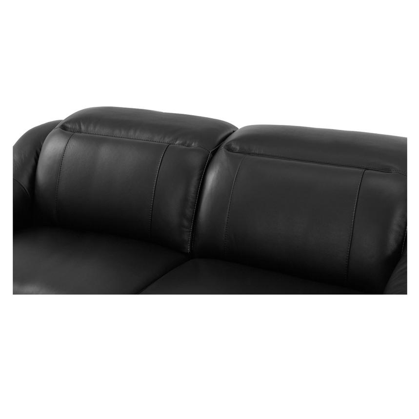 Davis Black Power Motion Leather Sofa  alternate image, 5 of 9 images.
