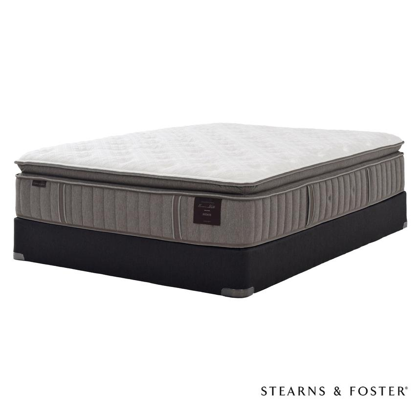 Scarborough V Queen Mattress Set w/Regular Foundation by Stearns & Foster  main image, 1 of 5 images.