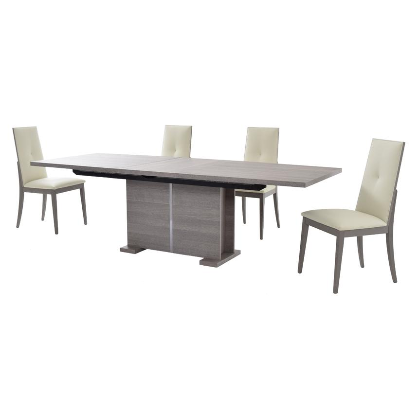 Tivo 5-Piece Formal Dining Set Made in Italy  alternate image, 4 of 15 images.