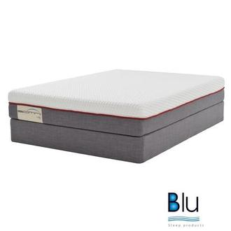 Velano 2.0 Queen Mattress Set w/Low Foundation By Blu Sleep Products