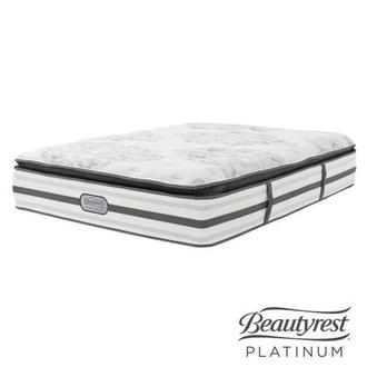 Stone Mountain Queen Mattress by Simmons Beautyrest Platinum
