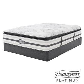 Stone Mountain Twin XL Mattress Set w/Low Foundation by Simmons Beautyrest Platinum