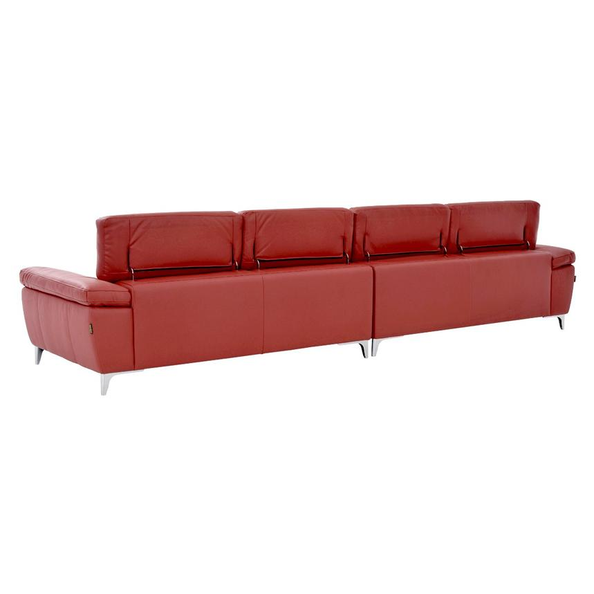 Costa Red Oversized Sofa  alternate image, 4 of 7 images.