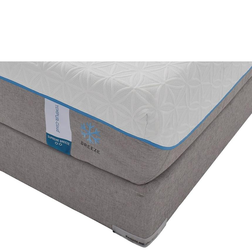 Cloud Supreme Breeze Memory Foam Twin XL Mattress Set w/Low Foundation by Tempur-Pedic  main image, 1 of 5 images.