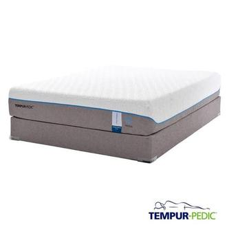 Cloud Supreme Breeze Memory Foam Queen Mattress Set w/Low Foundation by Tempur-Pedic