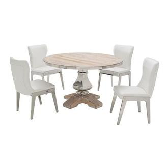 Wilma/Onyx 5 Piece Formal Dining Set
