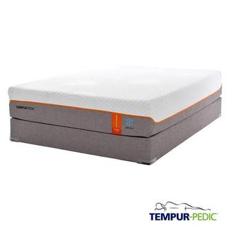Contour Elite Breeze Memory Foam Twin XL Mattress Set w/Low Foundation by Tempur-Pedic