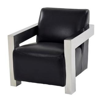 Grazia Leather Accent Chair