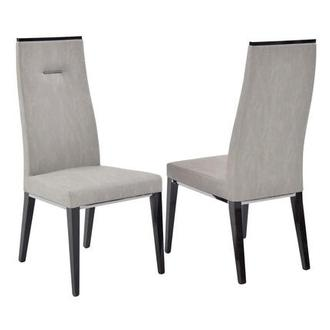 Heritage Gray Side Chair Made in Italy