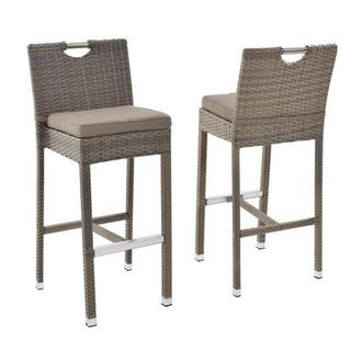 Neilina Brown Bar Stool