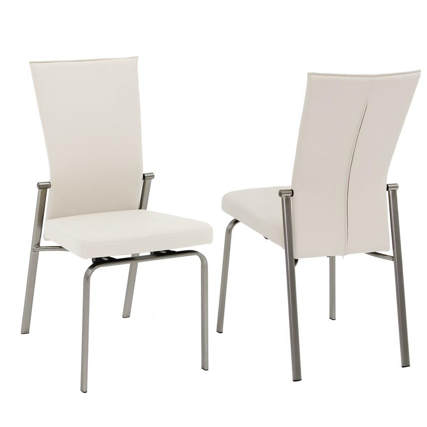 Antonia White 5-Piece Casual Dining Set  alternate image, 9 of 12 images.