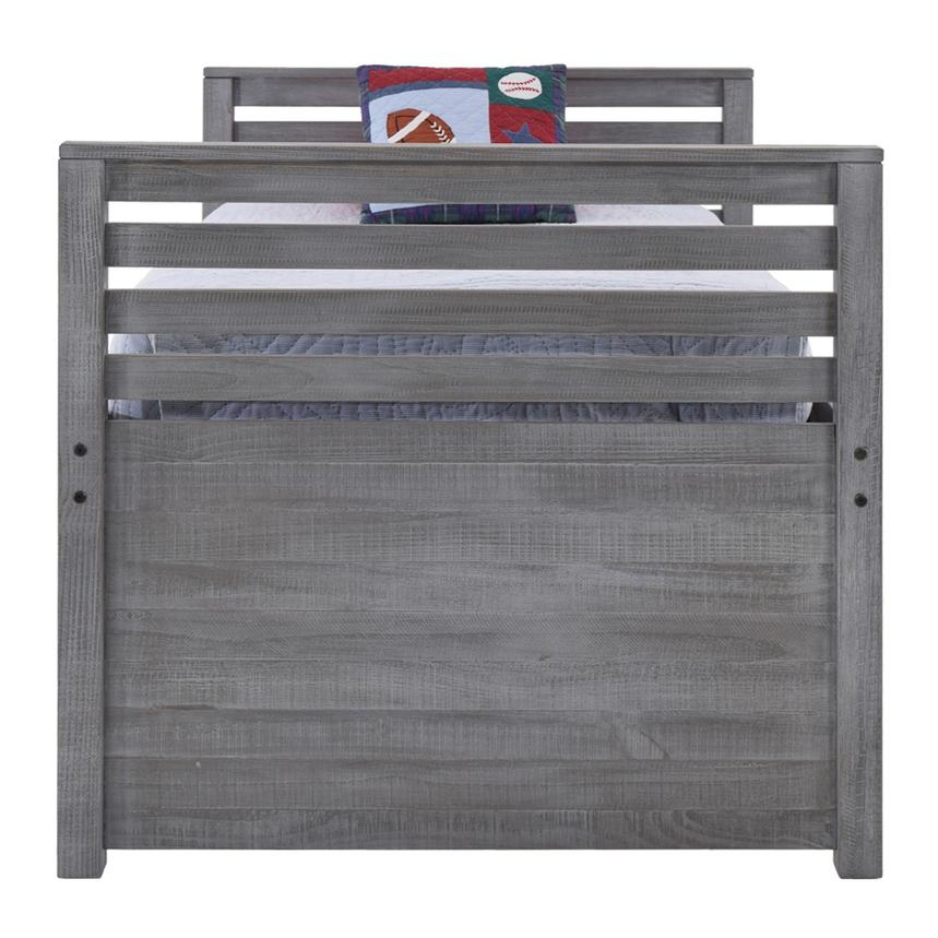 Montauk Gray Twin Storage Captain Bed Made in Brazil  alternate image, 4 of 8 images.