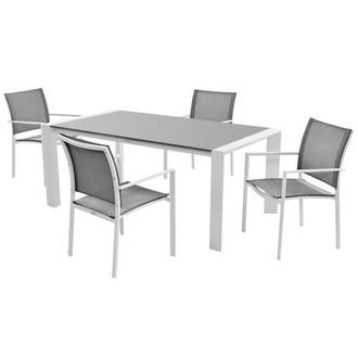 Mykonos Gray 5-Piece Patio Set