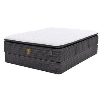 50th Anniversary Firm Queen Mattress Set w/Low Foundation by Carlo Perazzi