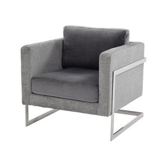 Emma Gray Accent Chair