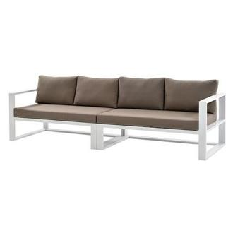 Mykonos Cream Oversized Sofa