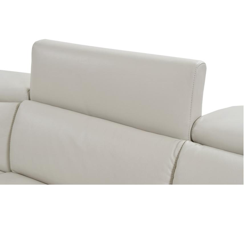 Bay Harbor Cream Power Motion Leather Sofa w/Right Sleeper  alternate image, 4 of 8 images.