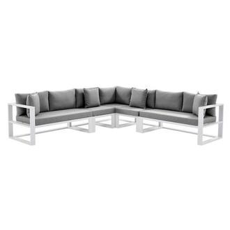 Mykonos Gray Sofa