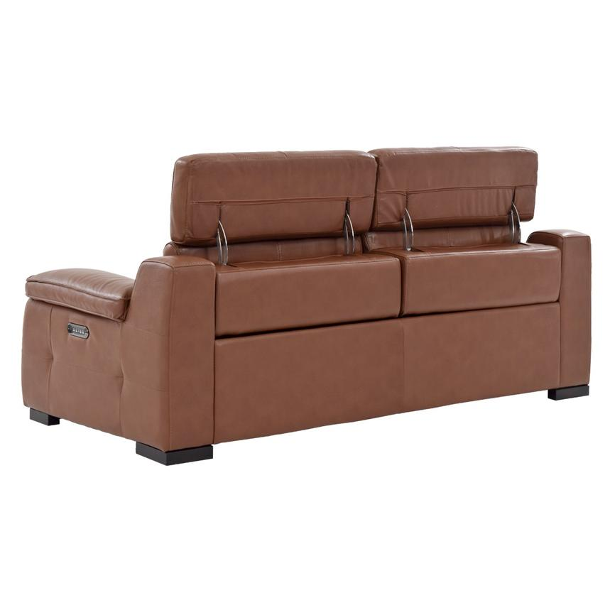 Gian marco tan power motion leather sofa el dorado furniture for Sofas el tresillo