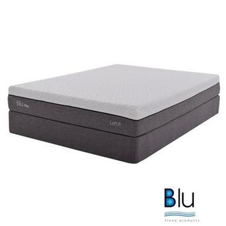Loft 1.0 Queen Memory Foam Mattress w/Regular Foundation By Blu Sleep Products