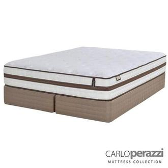 Alessandria King Mattress Set w/Low Foundation by Carlo Perazzi