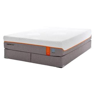 Contour Elite Breeze Memory Foam King Mattress Set w/Regular Foundation by Tempur-Pedic