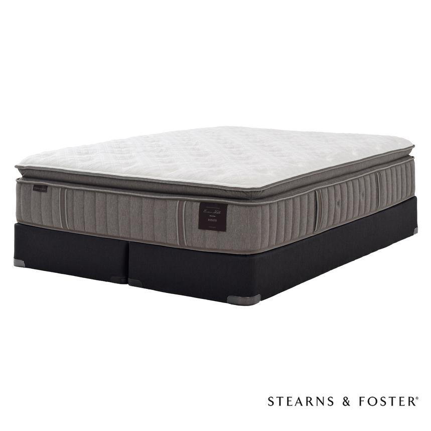 Scarborough V King Mattress Set w/Regular Foundation by Stearns & Foster  main image, 1 of 5 images.