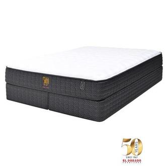 50th Anniversary Firm King Mattress Set w/Regular Foundation by Carlo Perazzi