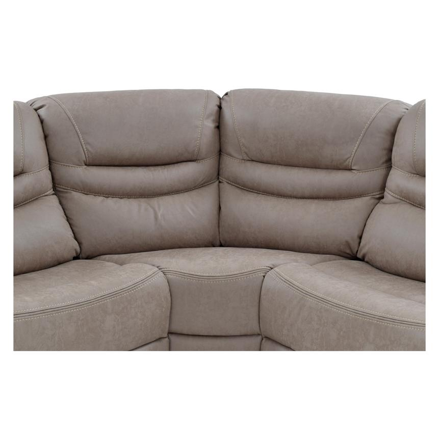 Dan Power Motion Sofa w/Right & Left Recliners  alternate image, 5 of 10 images.