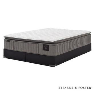 Oak Terrace IV King Mattress Set w/Regular Foundation by Stearns & Foster