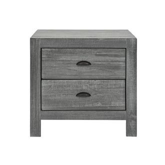 Montauk Gray Nightstand Made in Brazil