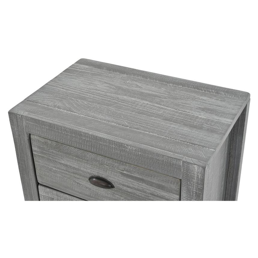 Montauk Gray Nightstand Made in Brazil  alternate image, 4 of 7 images.