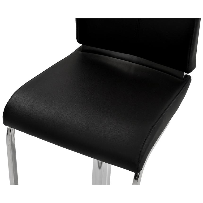 Maday Black Adjustable Stool  alternate image, 5 of 6 images.