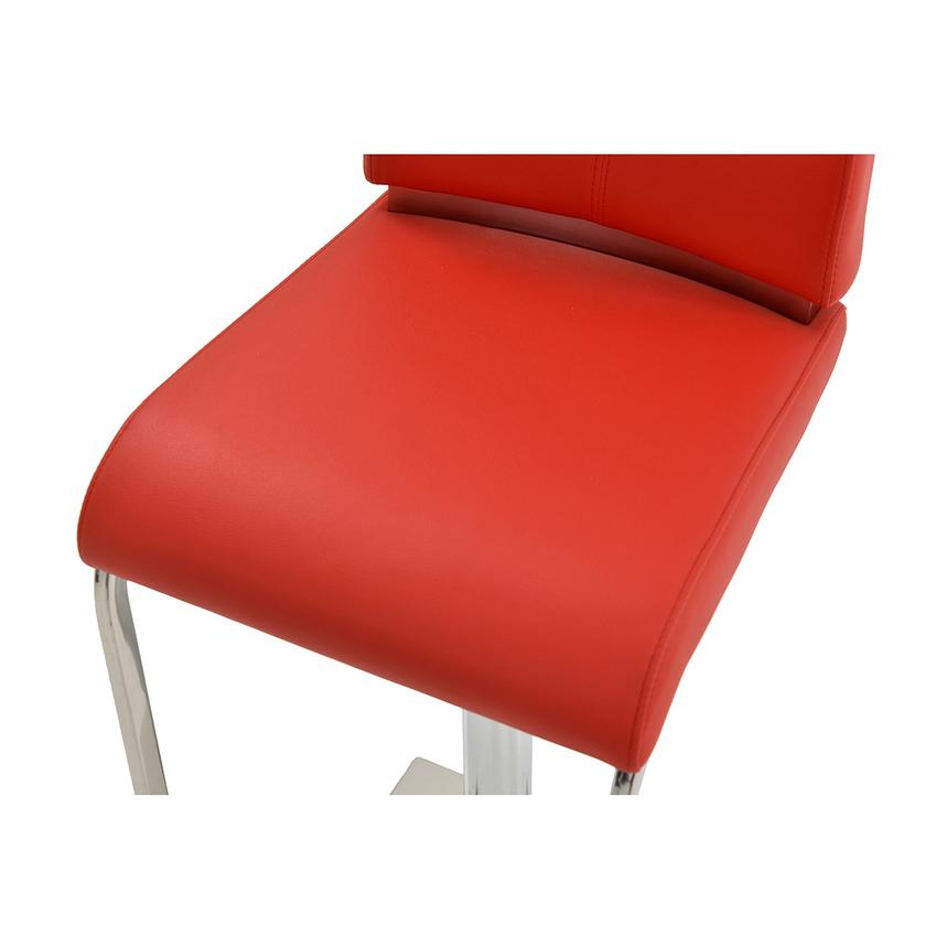Maday Red Adjustable Stool  alternate image, 5 of 6 images.