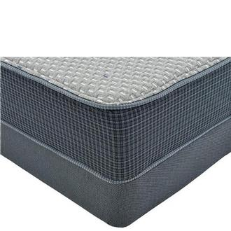 Marshall HB Queen Mattress w/Low Foundation by Simmons Beautyrest Silver