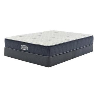 Pacific Heights Full Mattress w/Low Foundation by Simmons Beautyrest Silver