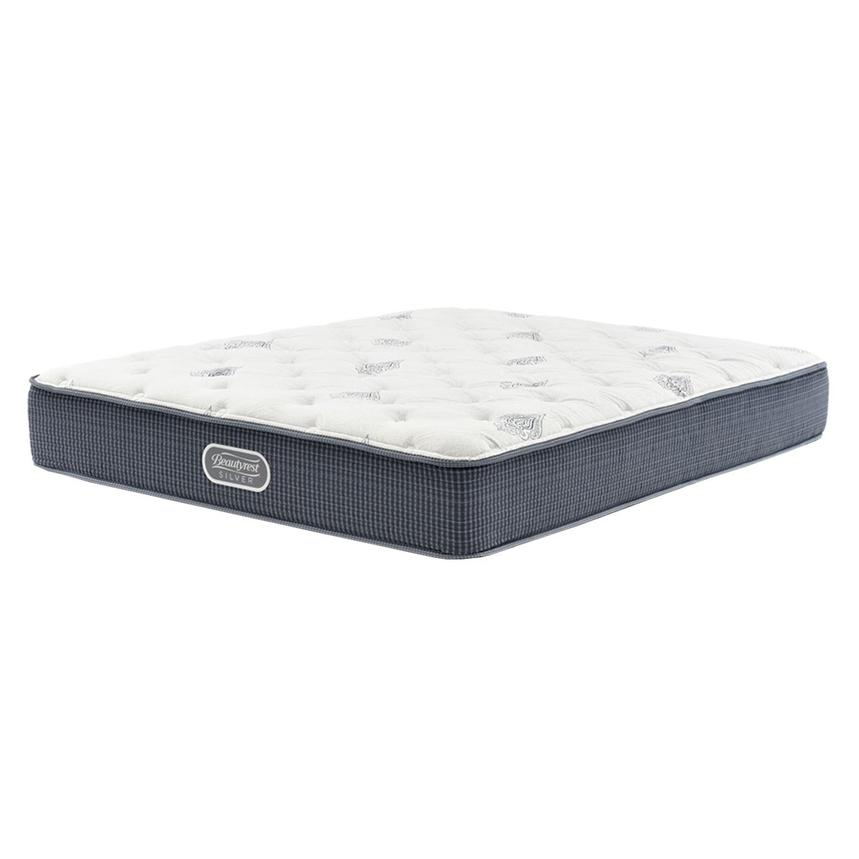 Ocean Springs Queen Mattress by Simmons Beautyrest Silver  main image, 1 of 5 images.