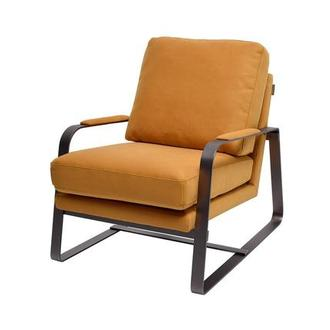 Isa Yellow Accent Chair