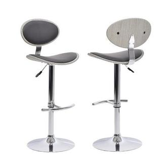 Noe Gray Adjustable Stool