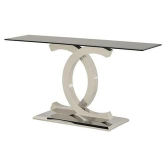 Otti Black Console Table