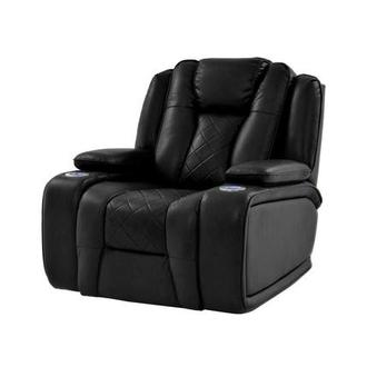Chanel Black Power Motion Recliner