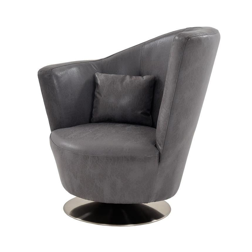 Linus Swivel Accent Chair  main image, 1 of 8 images.