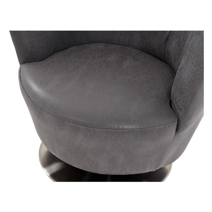 Linus Swivel Accent Chair  alternate image, 6 of 8 images.