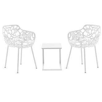 Mykonos/Rosie White 3-Piece Patio Set