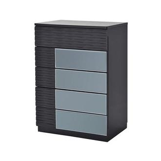 Manhattan Gray Mirrored Chest