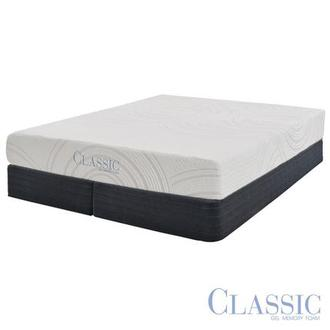 Darlington Memory Foam King Mattress Set w/Low Foundation by Classic Brands