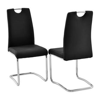 Lila Black Side Chair