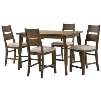 Viewpoint 5 Piece High Dining Set