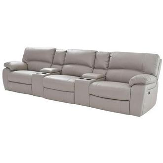 Camillo Gray Home Theater Seating