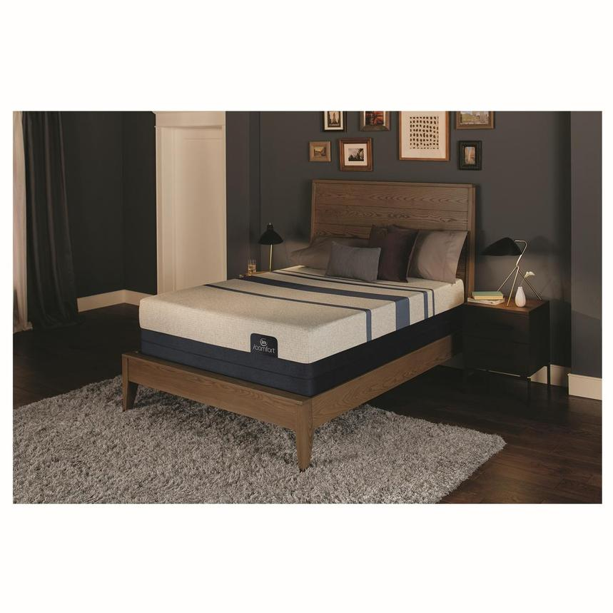 iComfort Blue 300 Queen Mattress w/Regular Foundation by Serta  alternate image, 2 of 4 images.